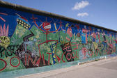 Berlin Wall - Artwork/Graffiti — Foto Stock