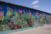 Berlin Wall - Artwork/Graffiti — Foto Stock