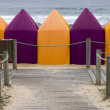 Beach tents - Foto Stock