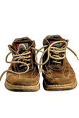 Old leather shoes — Stock Photo