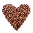 Coffee heart — Stock Photo #10736266