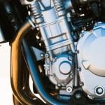 Modern motorcycle engine — Stock Photo