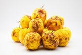 Yellow apples — Stock Photo