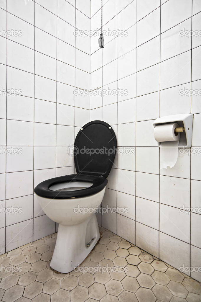 Wc dirty and slightly hygienic — Stock Photo #11262336