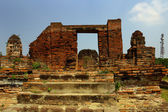 The ruins of an ancient temple — Stock fotografie