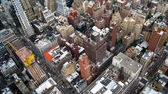 Aerial view New york — Stock Photo