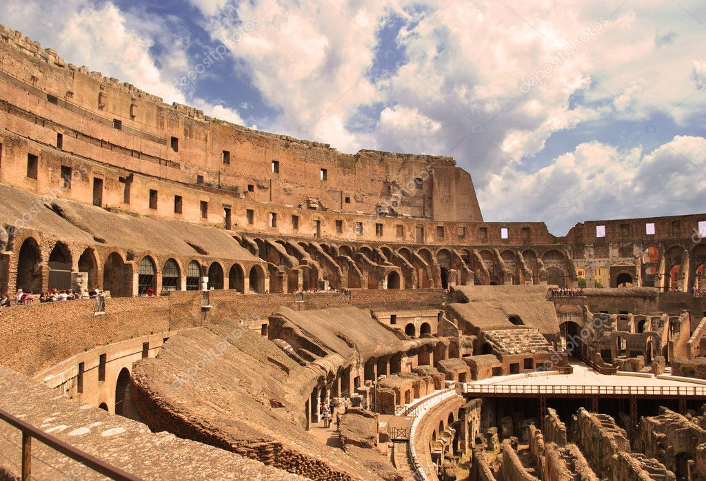 The Roman Colosseum The story of the worlds most famous
