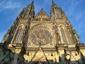 Katedrála svatého víta v praze — Stock fotografie
