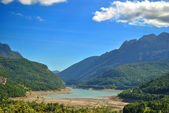 Lake os Bubal in the Pyrenees — Stock Photo