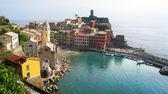 View of Vernaza , Italy — Stock Photo