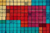 Terroso elemento geométrico de fundo e design — Fotografia Stock