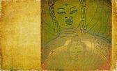 Abstract buddha background — Stock Photo