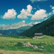 European alpine landscape - Stock Photo
