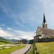 Old church in alpine landscape — Stock Photo #11956615