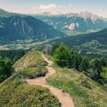 Gorgeous alpine landscape — Stock Photo