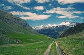 Majestic alpine landscape — Stock Photo