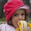 Them banana girl — Stock Photo