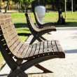 Stock Photo: Scene of street furniture in public park