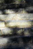 Scene rustic stone staircase — Stock Photo