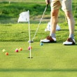 Royalty-Free Stock Photo: Golf scene