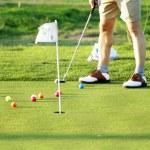 Golf scene — Stock Photo