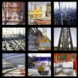 Stock Photo: Construction group snapshots