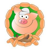 Butchery logo — Stock Vector