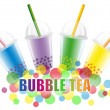Stock Vector: Bubble Tea