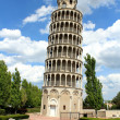 Leaning tower — Stockfoto