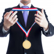 Gold medal — Stock Photo #11353789