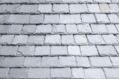 Natural slates roof — Stock Photo