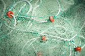 Fishing net detail — 图库照片