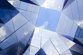 Modern glass architecture — Stock Photo