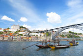 "Oporto ""postcard"" - Portugal — Stock Photo"