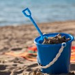 Stock Photo: Beach Pail and Shovel