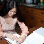 Easy Homework — Stock Photo