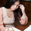 Hard Homework — Stockfoto