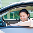 Stock Photo: Teen Driver