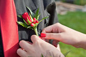 Prom boutonniere — Stock Photo