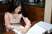 Easy Homework — Stock Photo