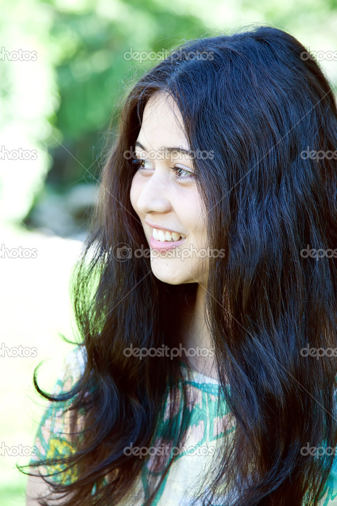A young attractive teen girl.  Stock Photo #11641518