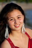 Bir genç kız portresi — Stok fotoğraf