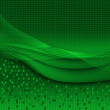 Abstract background in green — Stock Vector