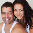 Stock Photo: Portrait of loving couple