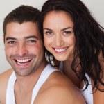 Portrait of a loving couple — Stock Photo