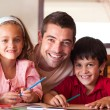 Portrait of a family — Stock Photo #10821074