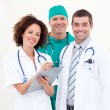 Stock Photo: Portrait of successful medical team