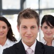 Beautiful business team looking at the camera — Stock Photo #10822046