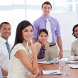International business associates in a meeting — Stock Photo