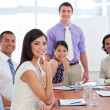 International business associates in a meeting — Stock Photo #10825309